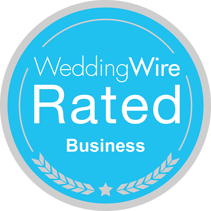 A Wedding Wire Rated Business